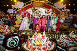 สยามพารากอนจัดเต็มตรุษจีนปีหนูทองแห่งความรุ่งโรจน์