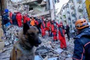 In Pics&Clip: แผ่นดินไหวตุรกีรอบ 2 แรง 4.1 เขย่าจังหวัดเอลาซือ ยอดดับพุ่ง 31