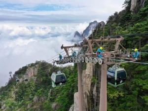 """แหล่งท่องเที่ยวดังในจีนทยอยปิด 'ภูเขาหวงซาน' ปิดรับนักท่องเที่ยว ยับยั้งไวรัสโคโรนาระบาด ตามหลัง """"พระราชวังต้องห้าม"""" และ """"เซี่ยงไฮ้ ดิสนีย์"""""""