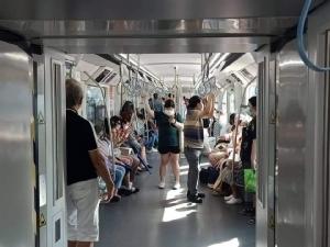 อธิบดีกรมรางกำชับรถไฟฟ้าเพิ่มมาตรการป้องกันเชื้อโคโรนา