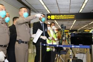 สตม.จัดเครื่องเทอร์โมสแกน ช่องทางพิเศษสำหรับนทท.จีน ป้องก้นไวรัสโคโรน่า