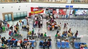 สนามบินอู่ตะเภาเข้มคัดกรองนักท่องเที่ยวเช่าเหมาลำกันเชื้อไวรัสโคโรนา