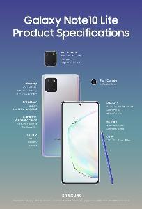 ซัมซุง ส่ง S10 Lite - Note10 Lite จับตลาดสมาร์ทโฟนต่ำกว่า 2 หมื่นบาท