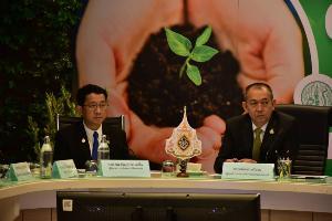 วช.ร่วมโครงการแจกต้นไม้ล้านต้นลดฝุ่น PM 2.5