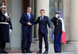 """In Clip: ระทึก! มาครงสัญญาส่ง """"เรือรบฝรั่งเศส"""" ช่วย """"กรีซ"""" หลังขัดแย้งกับตุรกี"""