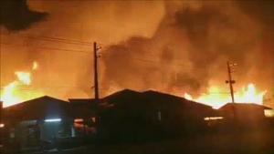 (ชมคลิป)เพชรบูรณ์เดือด ! ชาวเน็ตรุมประนาฌคนเผาอ้อยไฟท่วมเป็นทะเลเพลิงหวิดถึงบ้านคน