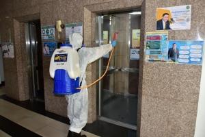 ทช.พ่นน้ำยาฆ่าเชื้อ ป้องกันไวรัสโคโรนาแพร่ระบาด