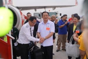 """ออกเดินทางแล้ว ส่งเครื่องบินรับคนไทย 144 คน กลับจาก """"อู่ฮั่น"""""""