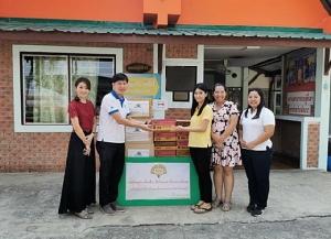 มูลนิธิเฮอริเทจประเทศไทย ร่วมส่งมอบนมอัลมอนด์เพื่อสนับสนุนผู้พิการทางสายตา