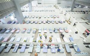 อู่ฮั่นจ่อเปลี่ยนโรงยิม-ศูนย์จัดแสดง เป็นโรงพยาบาลชั่วคราวเพิ่มอีก 8 แห่ง รองรับผู้ป่วยติดเชื้อไวรัสโคโรนา