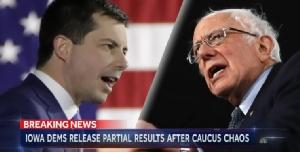 """In Clip: ผลเลือกตั้งสหรัฐฯรอบแรกรัฐไอโอวา """"พีท บุดดิเจต"""" ที่อาจเป็นปธน.สหรัฐฯเกย์คนแรกเอาชนะ """"แซนเดอร์ส-ไบเดน"""""""