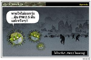 โคโรนาจีน?...PM2.5 ไทยเอาอยู่!