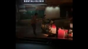 หนุ่มเวสป้าหัวร้อนขี่ปาดตื้บฟู้ดแพนด้าบนถนนกลางเมืองเชียงใหม่-ตร.ช้างเผือกโชว์ฝีมือลากตัวทันควัน