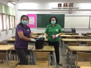 สสจ.นครปฐม ยกนิ้วโรงเรียนวางมาตรการป้องไข้หวัดใหญ่