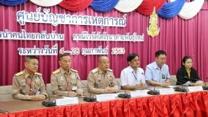 แยกชายไทย 2 รายกลับจากอู่ฮั่น ส่งรพ.ชลบุรี -  รพ.สัตหีบ หลังมีไข้ต่ำช่วงกลางดึกที่ผ่านมา