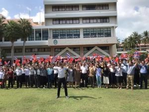 ชาวเกาะสมุยรวมพลังส่งใจให้ชาวจีนสู้ไวรัสโคโรนา ท่องเที่ยวย่ำแย่ จีนหาย เตรียมหาตลาดใหม่ เรียกร้องรัฐช่วยเหลือ