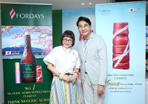 """""""มิสไทยแลนด์เวิลด์"""" ร่วมเปิดตัวผลิตภัณฑ์เสริมความงาม จากญี่ปุ่น"""