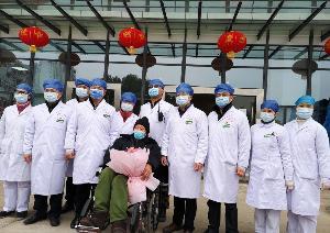 """ข่าวดี! หูเป่ยรักษาผู้ป่วยไวรัสโคโรนา """"อายุมากสุด"""" ในจีนได้สำเร็จ"""