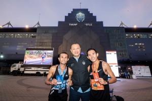 """""""บุรีรัมย์ มาราธอน"""" 2020 กระหึ่ม """"สัญชัย"""" แชมป์คนไทย-ลมกรด เคนย่าเข้าเส้นชัยคนแรก"""