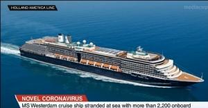 "In Clip : สื่อนอกรายงาน ""เรือครุยส์เวสเตอร์ดัม"" พร้อมผู้โดยสารค้างเติ่งกลางทะเล หลังไทยห้ามจอด บริษัทเรืออ้างไม่มีโคโรนาไวรัส"