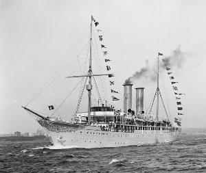 เรือสำราญในยุคกำเนิดแห่งยุคเรือพลังไอน้ำ