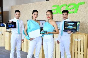แท็บเล็ตในภาพนั้นเป็นสินค้าตระกูล Acer Enduro โปรดักส์ใหม่ที่เอเซอร์เตรียมเปิดตัวเร็วๆ นี้ด้วยคุณสมบัติทนทานเหมาะกับการทำงานสุกสภาพอากาศ