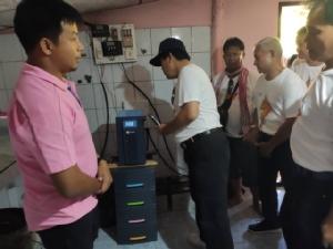 กกพ.ดึงผู้นำชุมชนเรียนรู้พลังงานสะอาดที่ อบต.หนองตาแต้ม เจ้าของรางวัลระดับโลก