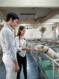 """รักคือการให้ """"มิน"""" ควง """"โอ๊ต"""" แบ่งปันความรักให้สัตว์พิการวันวาเลนไทน์"""