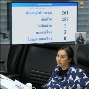 น.ส.ศิลัมพา เลิศนุวัฒน์ ส.ส.บัญชีรายชื่อ พรรคพลเมืองไทย ถึงกับนั่งปั๊มนมให้ลูกในห้องประชุมสภา เพราะไม่สามารถออกไปพักนอกห้องประชุมได้ หวั่นกระทบการลงมติร่าง พ.ร.บ.งบประมาณฯ