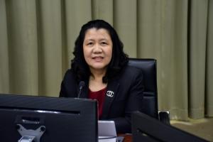 รศ.ดร.ดวงพร ภู่ผะกาอธิการบดี มหาวิทยาลัยราชภัฏราชนครินทร์
