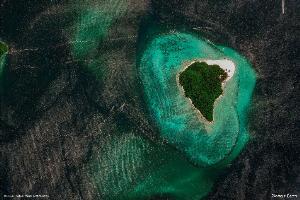 เกาะแบมบู (เกาะไม้ไผ่) ต.อ่าวนาง อ.เมืองฯ จ.กระบี่