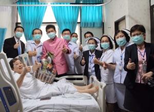 พร้อมกลับบ้าน ผู้ป่วยโควิด-19 รพ.ราชวิถี รักษาหายจากสูตรยาร่วม เตรียมตีพิมพ์วารสารการแพทย์ต่างประเทศ