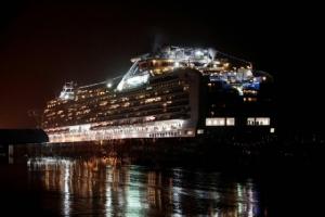 """พบผู้ติดเชื้อไวรัสโคโรนาบน """"เรือสำราญญี่ปุ่น"""" อีก 88 ราย ยอดรวม 542 คน"""