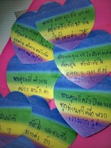 เผยความรู้สึก 137 คนไทยกลับบ้านผ่านตัวอักษรรูปหัวใจ