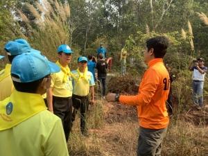 ไฟป่าบนเทือกเขาบรรทัดเขตรอยต่อไทย-กัมพูชา ด้าน จ.ตราด เริ่มคลี่คลาย