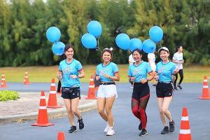 """""""แอฟ ทักษอร"""" นำทีมเดิน-วิ่งการกุศล Destiny Charity RUN 2020"""