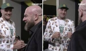 """""""ทริปเปิล เอช"""" โผล่ดู """"ฟิวรี"""" คาดชวนมาแจม WWE"""