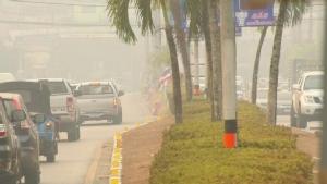 ปัญหามลพิษเมืองตราดเข้าขั้นวิกฤต หลังไฟป่าบนเขาบรรทัดยังไม่มีทีท่าสงบ