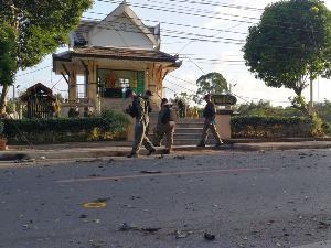 คืบหน้าเหตุลอบวางระเบิดสะบ้าย้อย คาดโจรใต้ล้างแค้นถูกวิสามัญฯ 5 ศพที่นราธิวาส