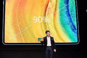HUAWEI MatePad Pro 5G มีอัตราส่วนพื้นที่หน้าจอต่อตัวเครื่องสูงที่สุดในโลกที่ 90%