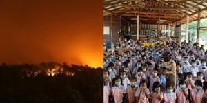 วอนภาครัฐเข้าช่วยเหลือไฟป่าในพื้นที่ จ.ตราด อากาศย่ำแย่ กระทบเด็ก-ผู้สูงอายุ