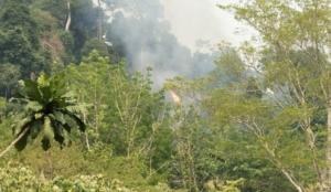 วิกฤตไฟป่าลามทุกหัวระแหง ล่าสุดพบที่นอกเขตอุทยานฯ จันทบุรี โชคดีระงับทัน