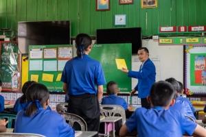 บ้านปูฯ ปลื้ม! ผลยกระดับมาตรฐานการศึกษาแก่โรงเรียนขนาดเล็กในภาคอีสาน