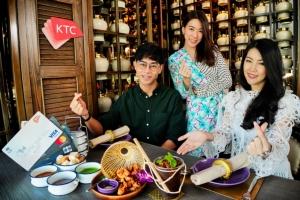 """""""เคทีซี"""" ชวนอร่อยเต็มอิ่มกับร้านอาหารไทยในเครือนารา"""