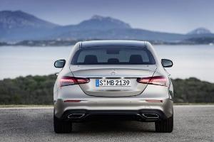 Mercedes-Benz เผยโฉม E-Class Facelift ยกหน้าใหม่หมดจด