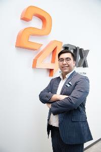 นายคณิศร มีพงษ์ ประธานเจ้าหน้าที่บริหาร บริษัท ทเวนตี้โฟร์ ฟิกซ์ จำกัด เจ้าของ 24 FIX