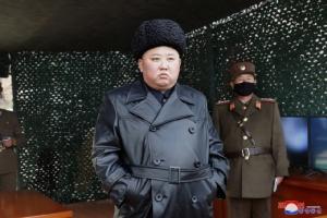 """""""คิม จองอึน"""" ส่งจดหมายถึงผู้นำเกาหลีใต้ แสดงความเสียใจเรื่องไวรัสระบาด"""