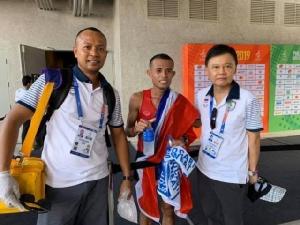 """""""บิ๊กต้อม"""" รับโควิด-19 ส่งผลต่อการลุ้นโควตาโอลิมปิก 2020"""
