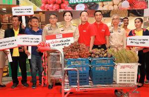 แม็คโครรับซื้อผลไม้ชาวสวนเพิ่มอีก 40%