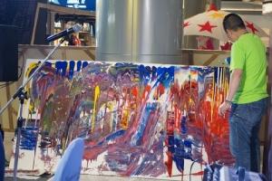 ศิลปินทั่วประเทศร่วมสร้างงานศิลป์ 350 ผลงาน ฟื้นฟูจิตใจชาวโคราช